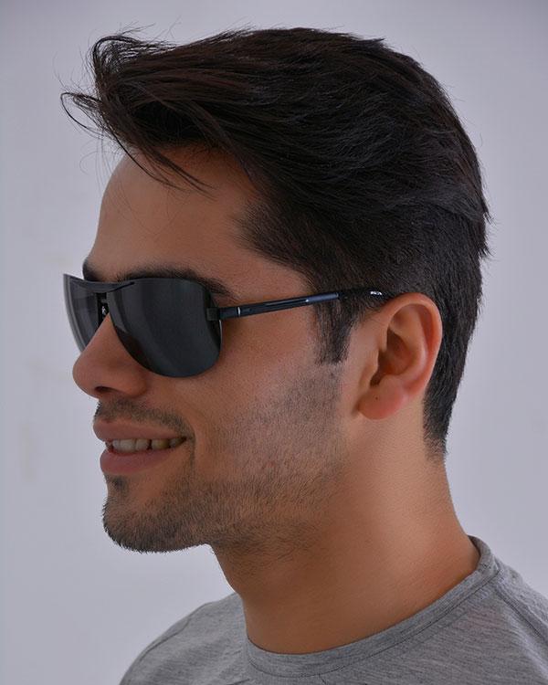عینک مردانه پلارطرح ماتریکس مدل 2065  